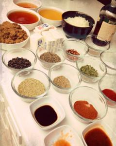 Shop Sauce, BBQ ingredients